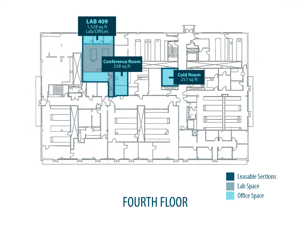 La Jolla Cove Research Center Floor Plans