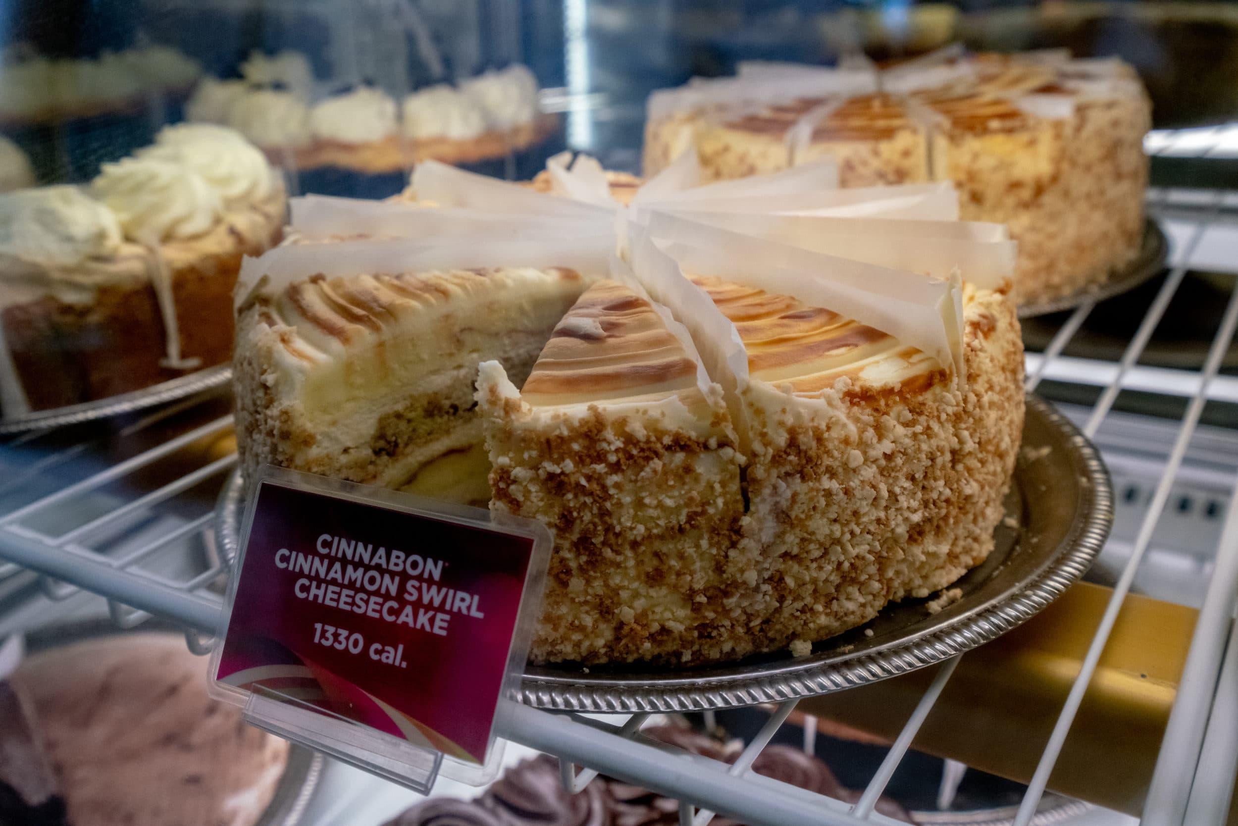 Cheesecake Small Plates Menu Factory