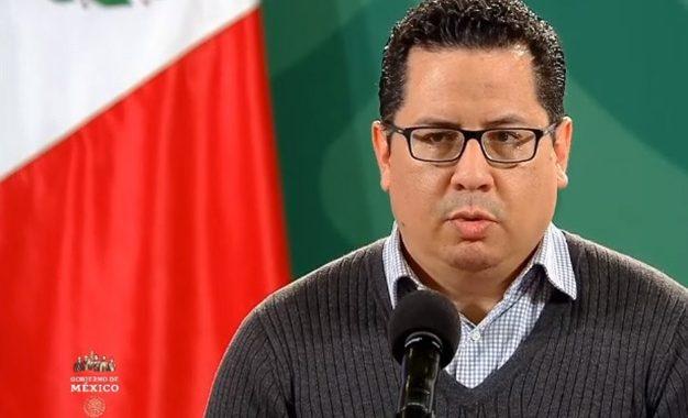 El director general de Epidemiología, José Luis Alomía durante conferencia de prensa. Foto grama tomado del video emitido por el Gobierno de México