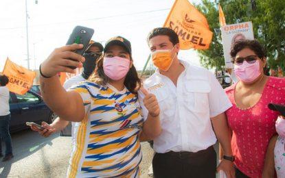 El candidato de MC a la gubernatura de Nuevo León, Samuel García en imagen de archivo. Foto tomada de la cuenta de Twitter @samuel_garcias