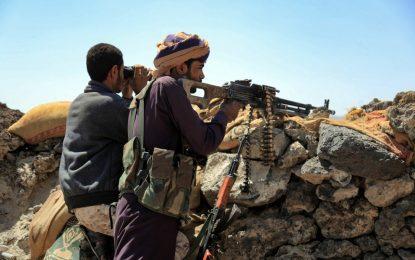 La coalición militar encabezada por Arabia Saudita en Yemen afirmó haber matado a más de 165 rebeldes hutíes en ataques al sur de Marib. Foto: Afp