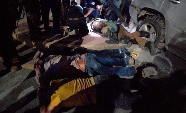 Personal de la Sedena logró la detención de varias personas que habrían participado en las balaceras. Foto redes sociales