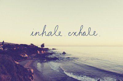 Inspire. Expire. Positive.
