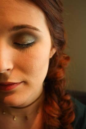 maquillage-coiffure-noel-tresse