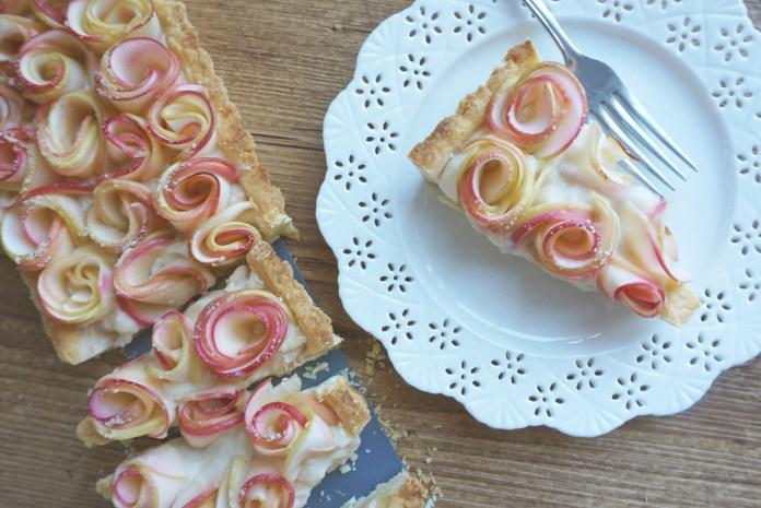 Tarte pommes roses- paysage 1