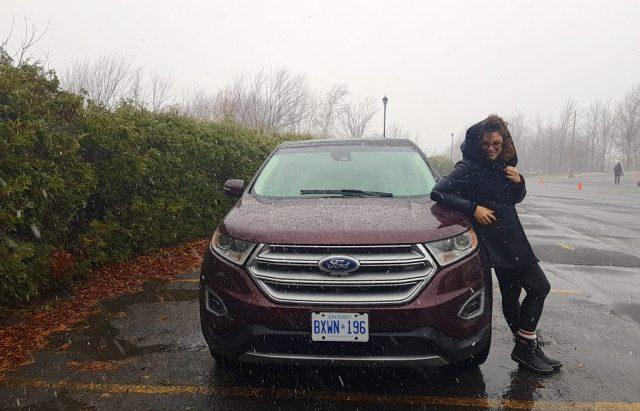 Ford Edge, Véro à Bromont
