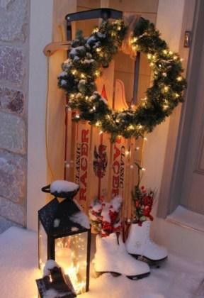 DIY extérieur Noël