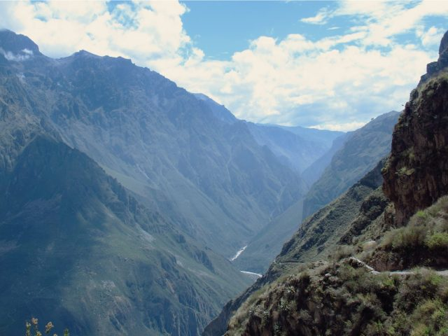 Canon del Colca, Pérou