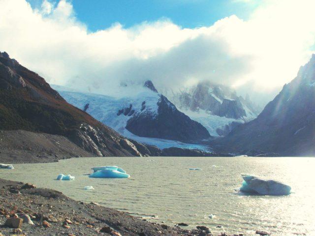 La Laguna Torres au Parque Nacional de los Glaciares