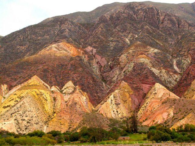 La Paleta del Pintor, nord de l'Argentine
