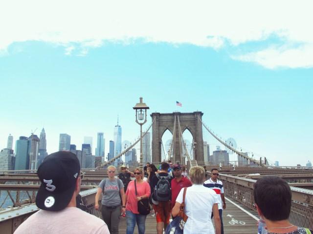 le pont de Brooklyn, New York