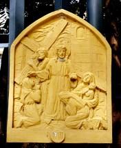 Loyola House of Studies, Stations of the Cross VIII: Jesus is met by the pious Women of Jerusalem