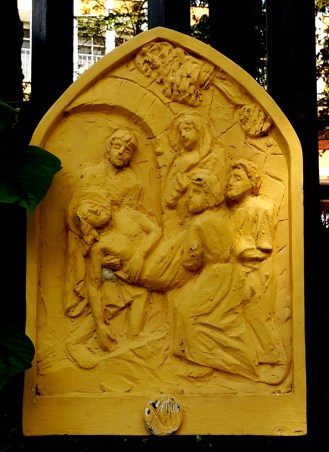 Loyola House of Studies, Stations of the Cross XIII: Jesus is buried in the Tomb