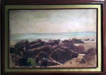Felix Resurreccion Hidalgo - Peñas y Playa (Rocks and the Coast)