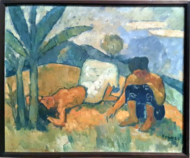 1937 Victorio Edades - Two Igorot Women