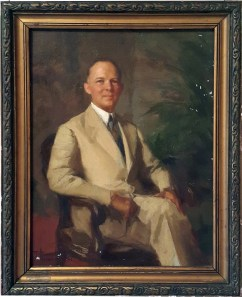 1941 Fernando Amorsolo - The Last American High Commissioner