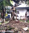 Manny Pacquiao sculpture