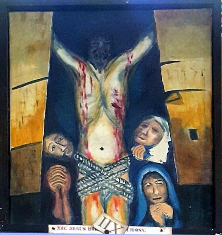 08l Sieger Köder - Jesus dies on the Cross