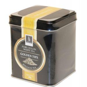 CEYLON TEA - GOLDEN TIPS 40G IN A CADDY (LOOSE TEA)