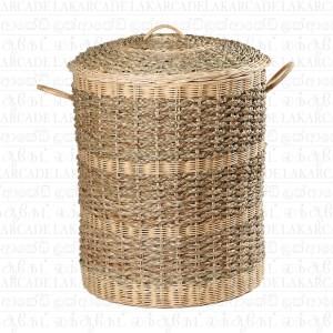 Cane Laundry Basket