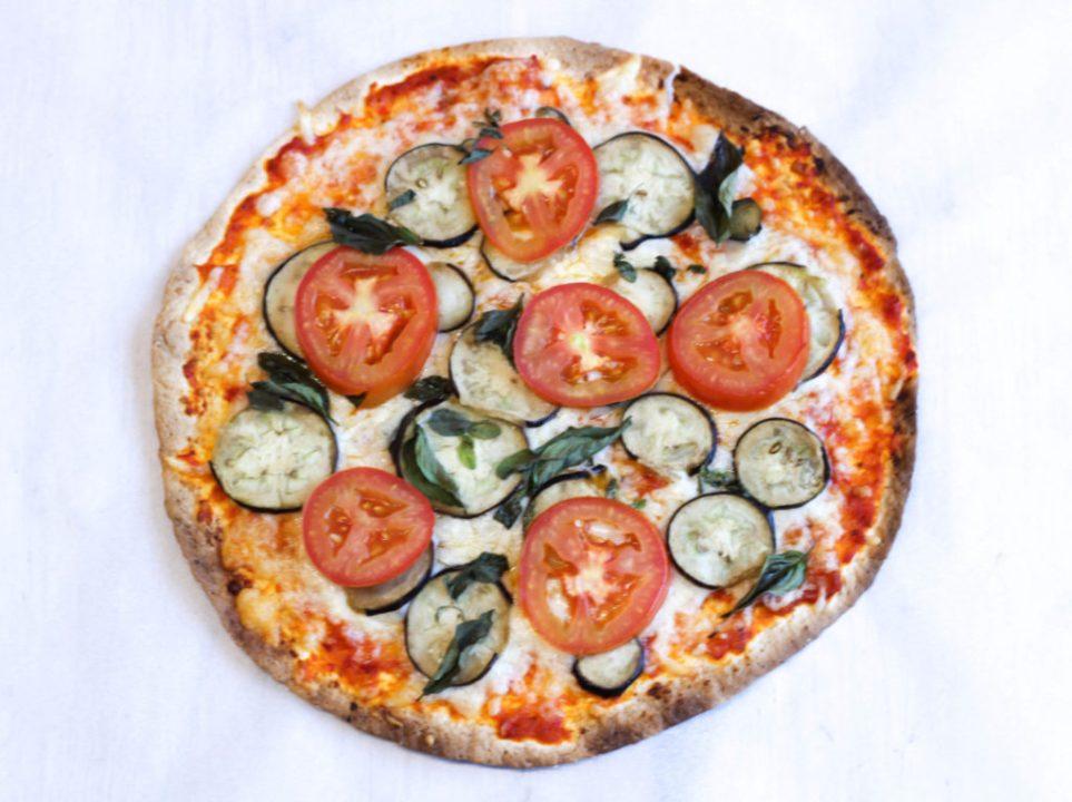 Schnelle Gemüsepizza, Pizza, Gemüsepizza, Schnelle Pizza, Healty Fast Food