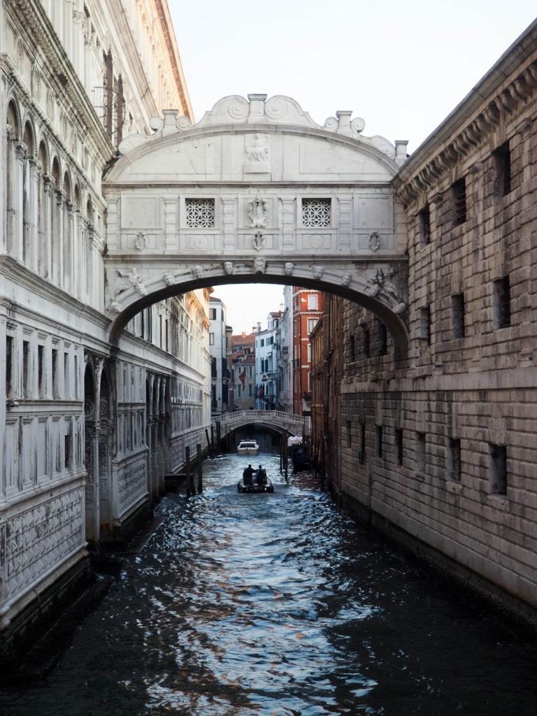 Venedig, Seufzerbrücke