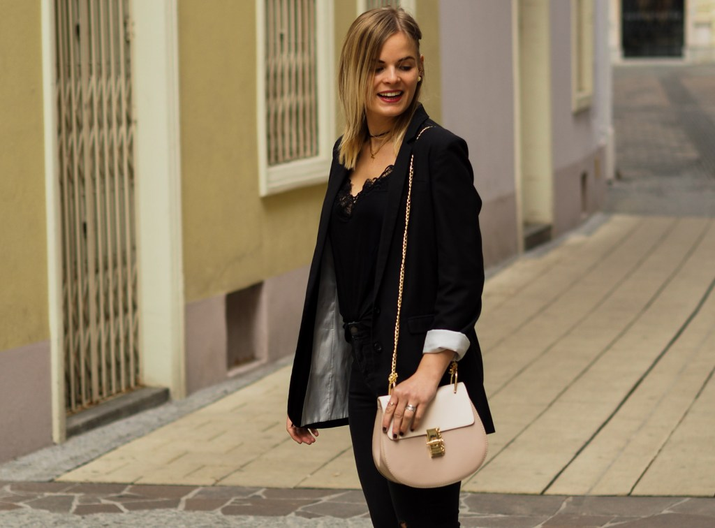 Allinblack, Slippers, Schwarze Kleidung, Skinny Jeans, Streetstyle, Blacklove