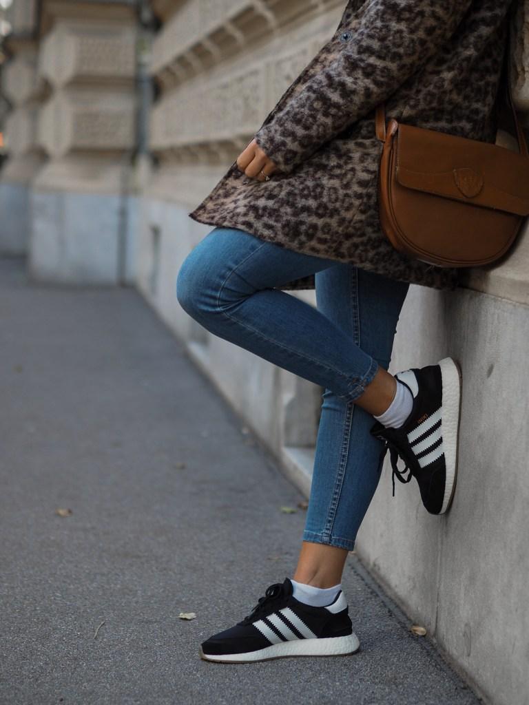 Herbstmantel, Wintermantel. Leopardenmuster, Leomuster, Animal Print, Herbstlook, Streetlook