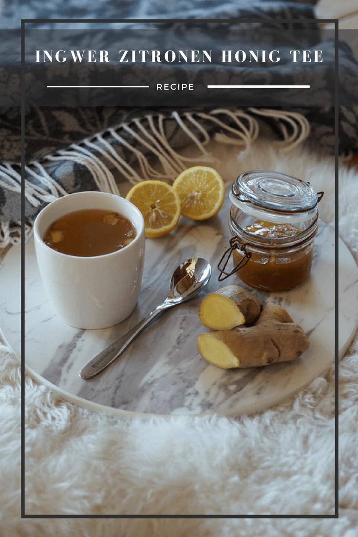 Ingewer Zitronen Honig, Erkältung, SOS Tipps