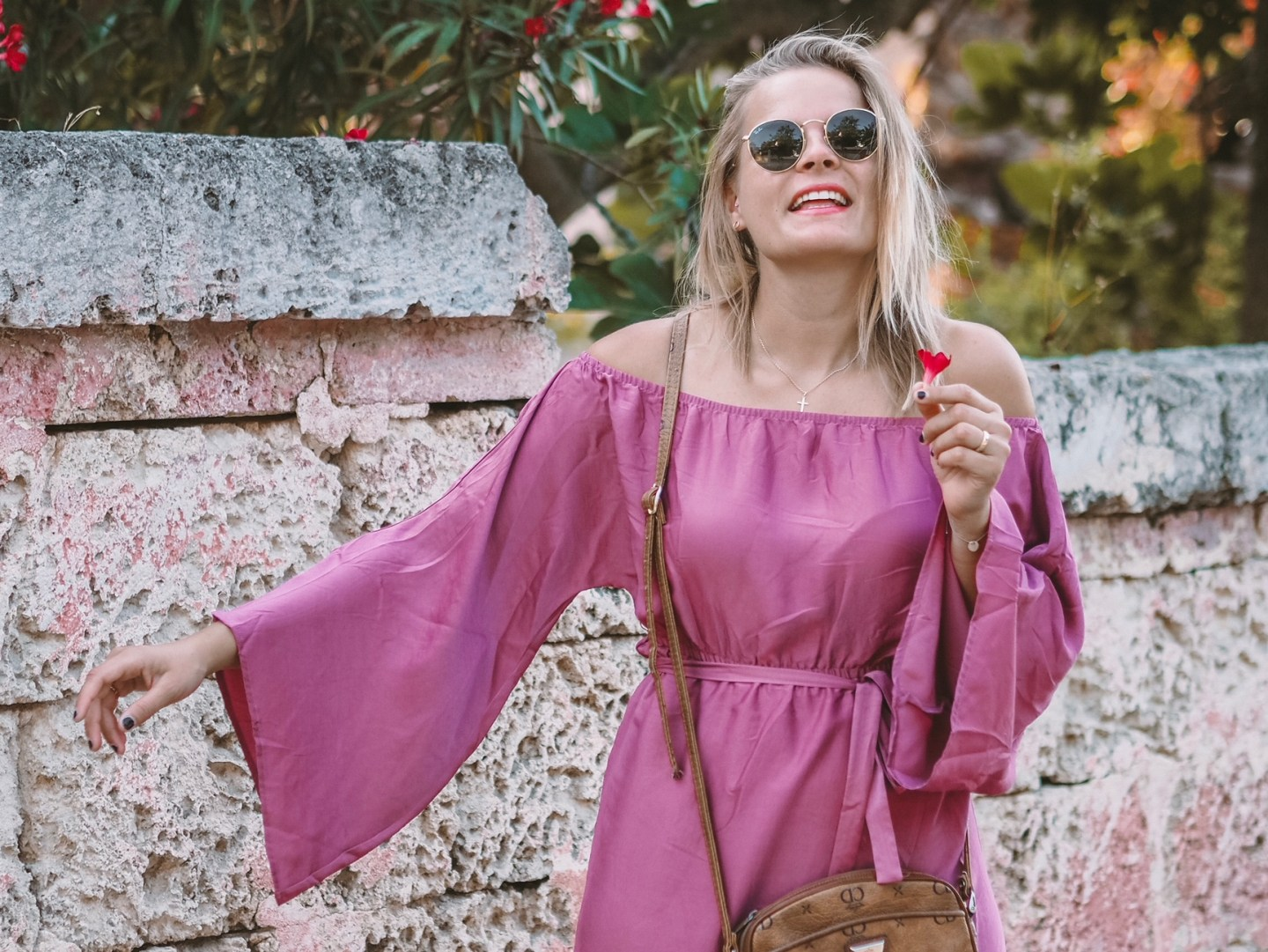 Outfit – A little touch of pink