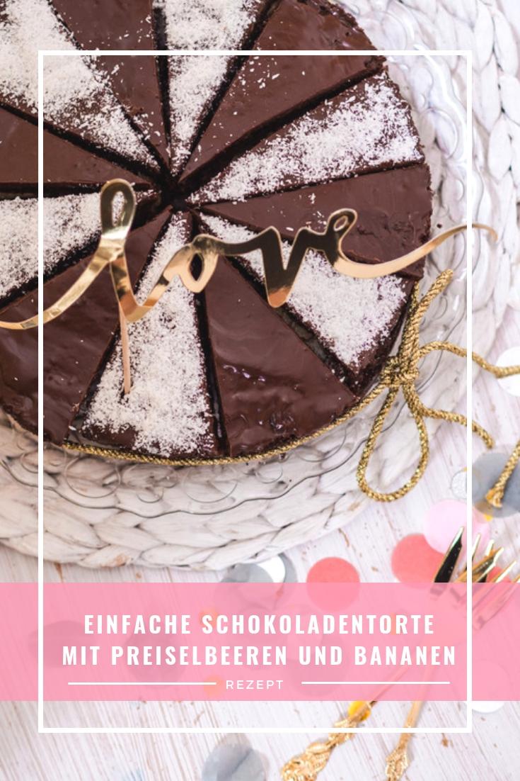 Torte, Geburtstagstorte, Rezept Torte, einfaches Rezept Torte, Becherkuchen, Foodblogger, Schokoladentorte, www.lakatyfox.com