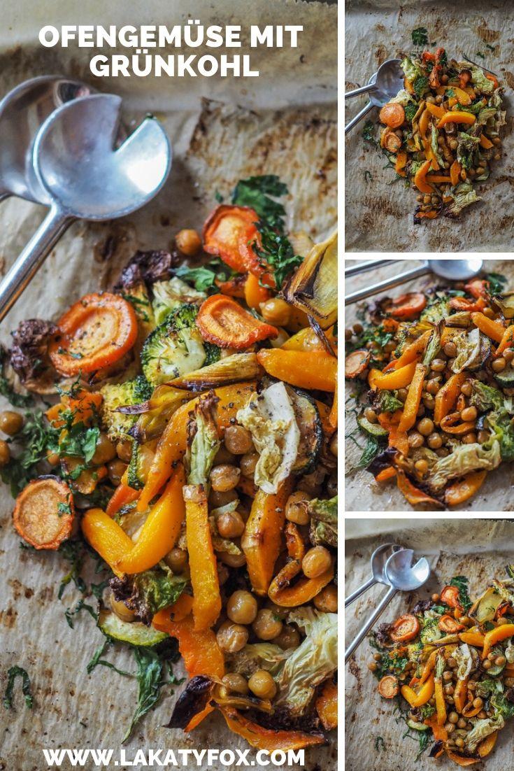 Grünkohl, Vegan, Ofengemüse, schnelle Küche, einfache Küche, Rezeptidee, Grünkohlrezept, Foodblogger, Blogparade, Lakatyfox