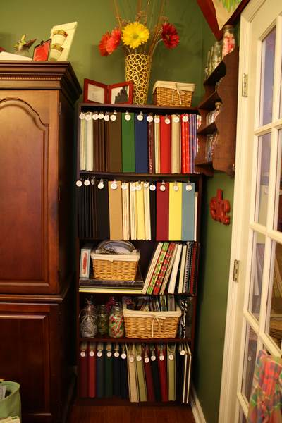 Bookshelf is straining to hold all those heavy albums!