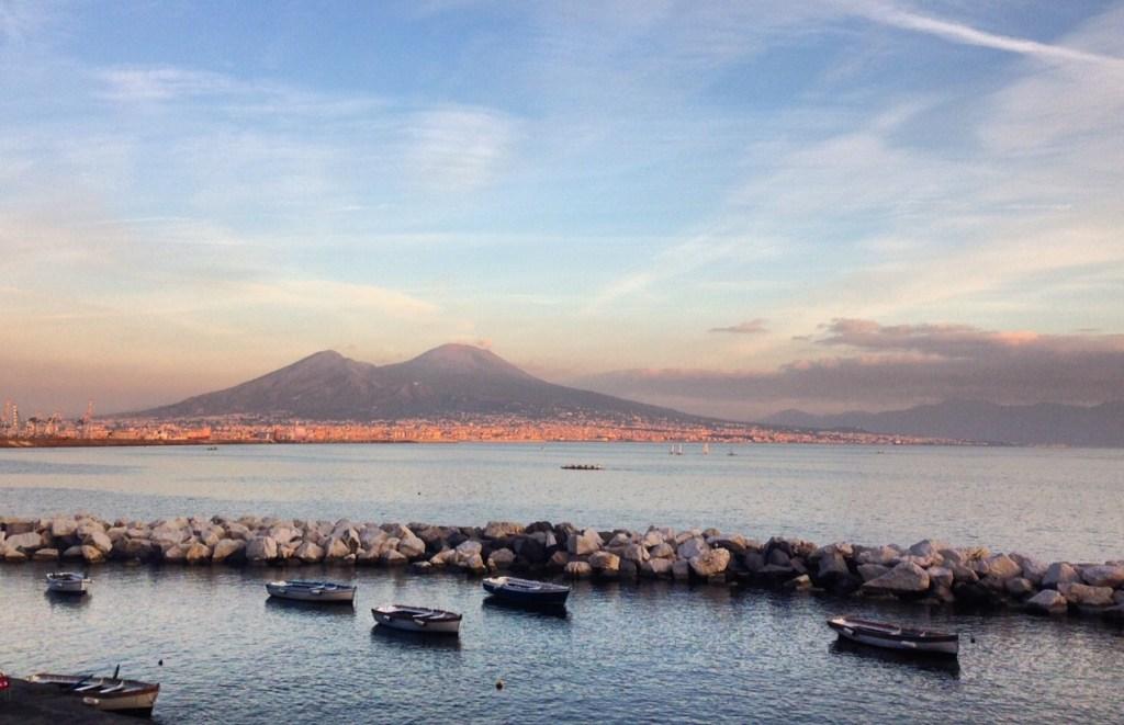 Neapel Vesuv Meer