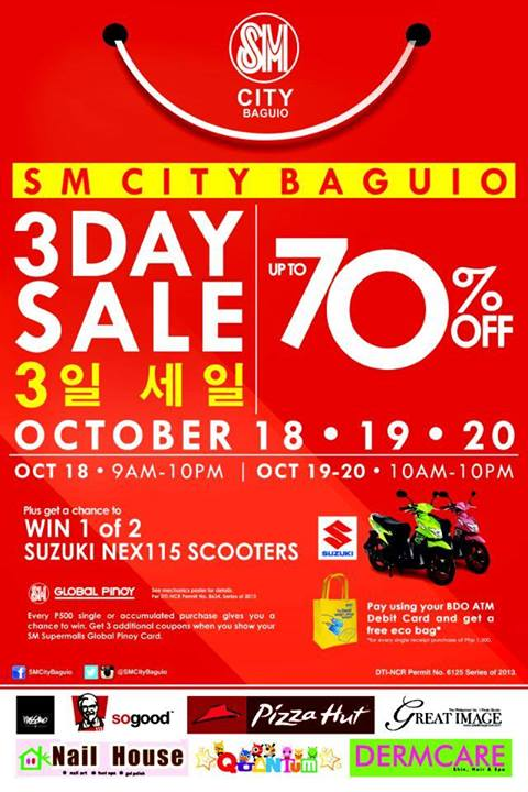SM-Baguio-3-Day-Sale