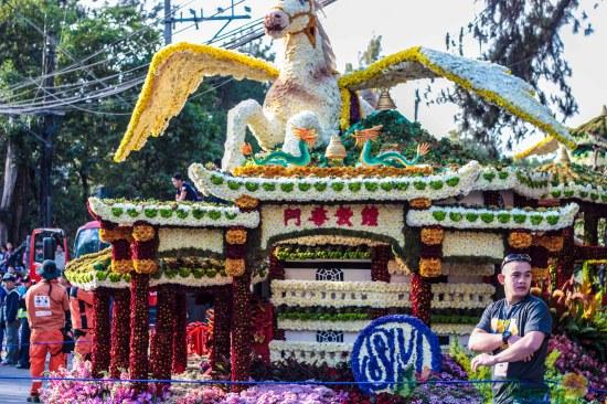 SM Float Panagbenga Grand Float Parade