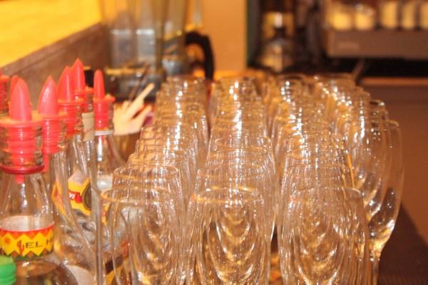 Baguio Hotel Wine Glasses Azalea