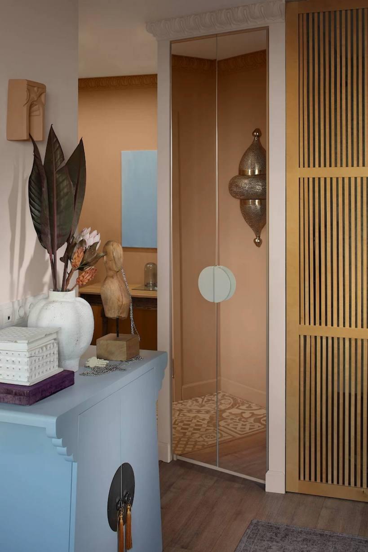 Дом юной леди оформлен в особом безмятежном стиле, вдохновленном поездкой в Азию.
