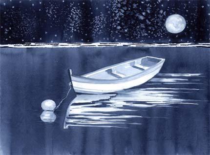 Quiet Cove by Caren Calafati