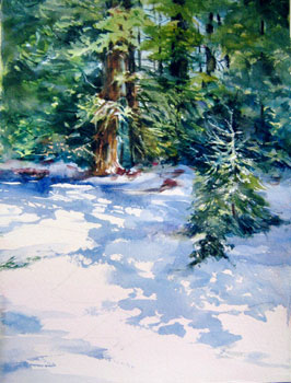 Snow Shadows by Bea Jillette