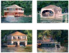 Sunapee Boathouse Cards 7
