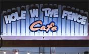 Hole in the Fence Café