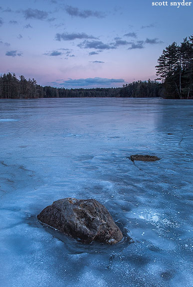 Ice in Webster Scott Snyder Photography