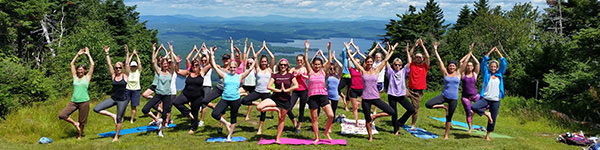 Mount Sunapee Yoga with a View