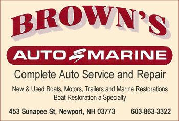 Browns Marine Ad 1