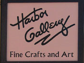 Harbor Gallery Sign