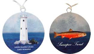 Lake Sunapee Ornaments