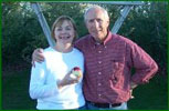 Linda and George West