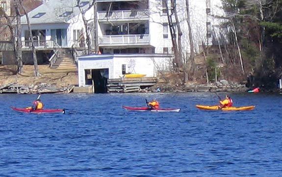 Kayaking in Sunapee Harbor Sunapee Harbor Slideshow