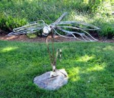 Dragonfly Sculpture